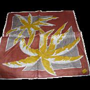 Kimball Linen Palms Handkerchief