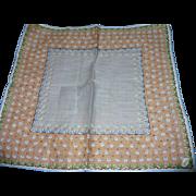 Burmel Floral Handkerchief