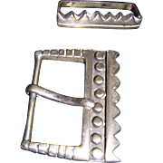 Sterling Lisa Jenks Belt Buckle