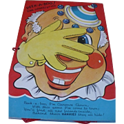 Children's Hankie Book and Hankies
