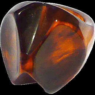 Bakelite Rootbeer Ring