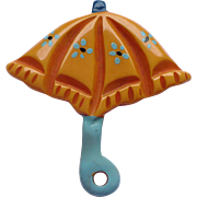 Bakelite Umbrella Pin Martha Sleeper