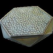 Mosaic Silver Compact