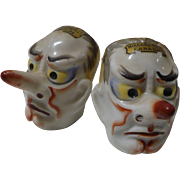 Man Face Salt Pepper Set