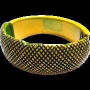 Overdye Hinge Bakelite Bracelet