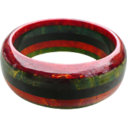 Stripe Bakelite Bracelet 5 color