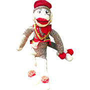 Organ Grinder Sock Monkey