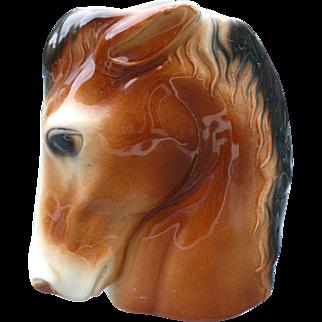 Horse Head Vase