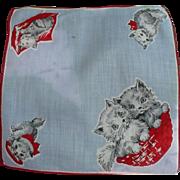 Baby Kittens Handkerchief