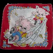 Dogs Slide Handkerchief