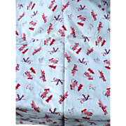 Flannel Fireman Fabric
