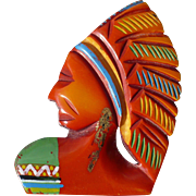 Bakelite Indian Head