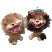 Ceramic Funny Lions Figurines