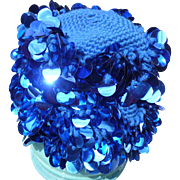 Knit Sequin Hat