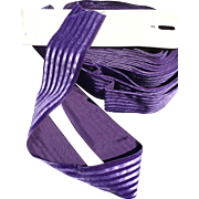 Purple Stripe Ribbon