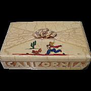 California Rancho-Craft Wooden Box