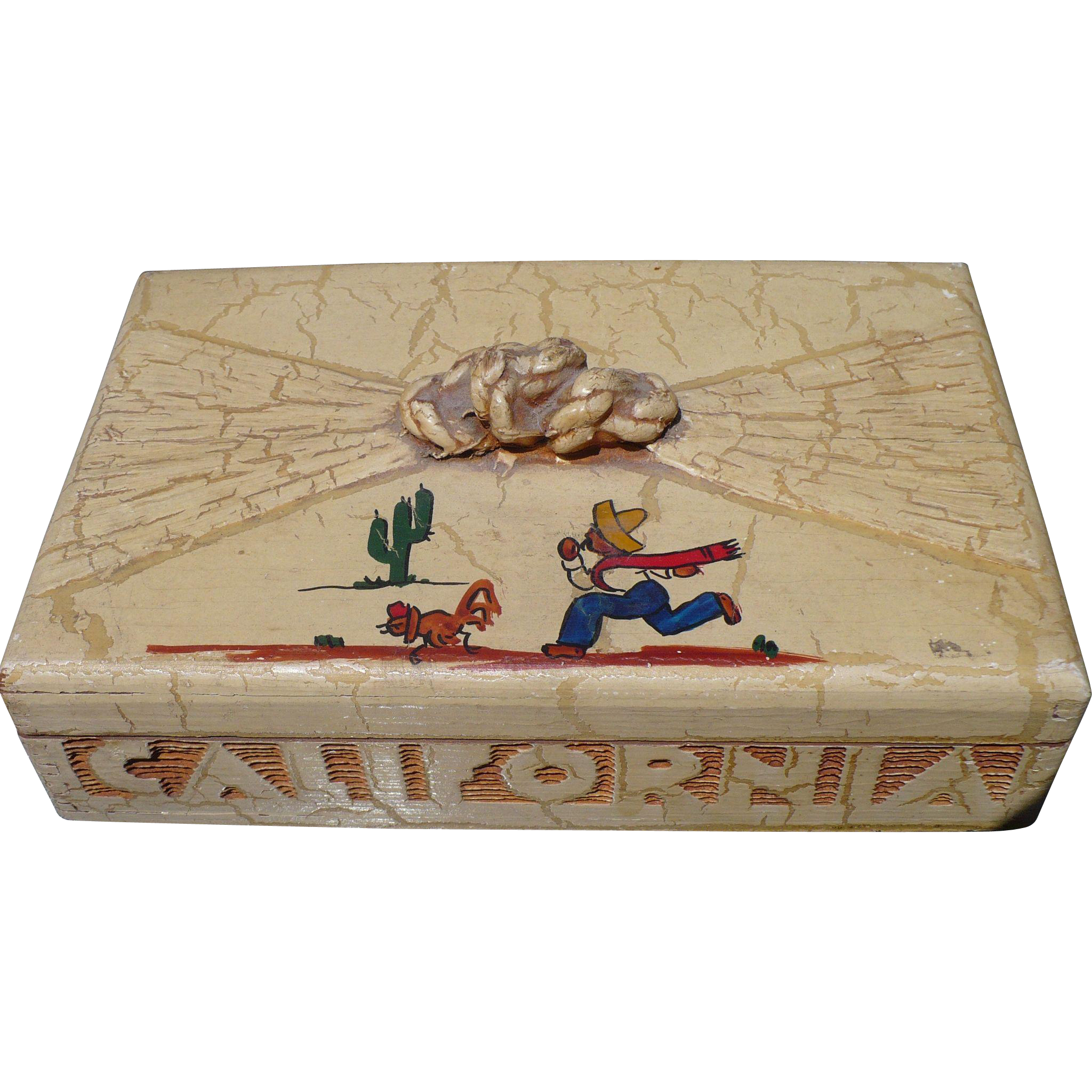 California Rancho-Craft Wooden Box