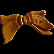 Bakelite Bow Pin