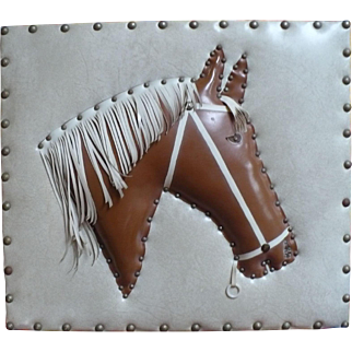 Padded Horse Vinyl Picture