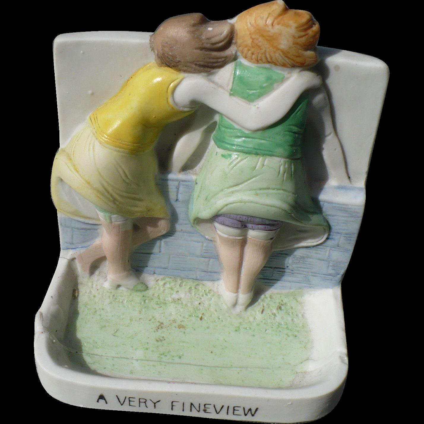 Fine View Ceramic Figurine