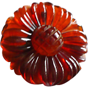 Bakelite Small Root Beer Flower
