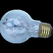 Aerolux Jewish Star Bulb