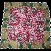 Pink Lilacs Handkerchief