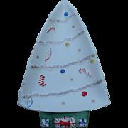Xmas Tree Plate Napco