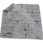 How To Speak French Handkerchief
