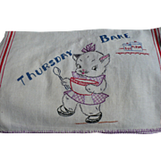 Thursday Bake Towel