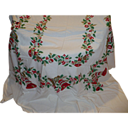 Large Christmas Table Cloth