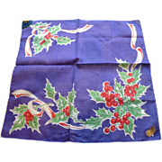 Holly Handkerchief