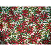Poinsettia Christmas Cloth