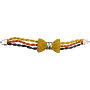 Metal Bow Bracelet