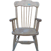 Oak Hill Childs Rocking Chair 1950's