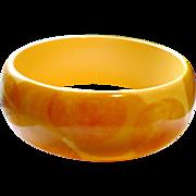 Sponge Dot Bakelite Bracelet