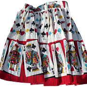Pleated Poker Apron