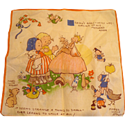 Attwell Child's Handkerchief