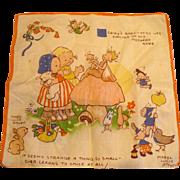 Attwell Child's Handkerchief