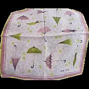 Faith Austin Umbrella Handkerchief