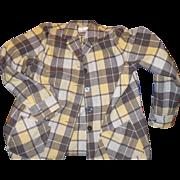Pendleton 49er Plaid Wool Shirt
