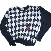Sonia Rykiel Argyle Sweater