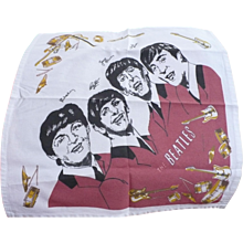 Beatles Cotton Napkin