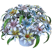 Metal Flower Centerpiece