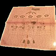 1965 Manpower Handkerchief