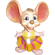 Topo Gigio Girl Mouse Bank