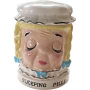 Shafford Sleeping Pills Jar