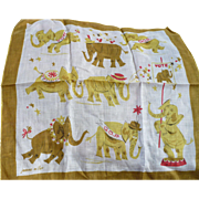 Republican Elephant Handkerchief