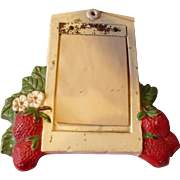 Strawberry Notepad Holder