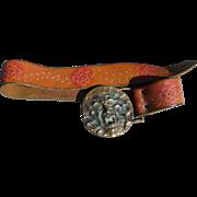 Brutalist 1970's Belt
